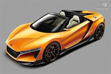 Honda set to enter tough competition with a baby NSX!