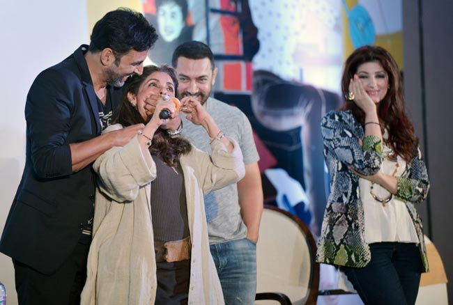 Bollywood twinkle khanna talks about akshay kumar aamir for Interior designs by twinkle khanna