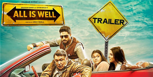 Movie Review: 'All is Well' - A trip that yields mixed results