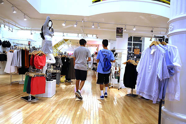 Clothing stores going out of business