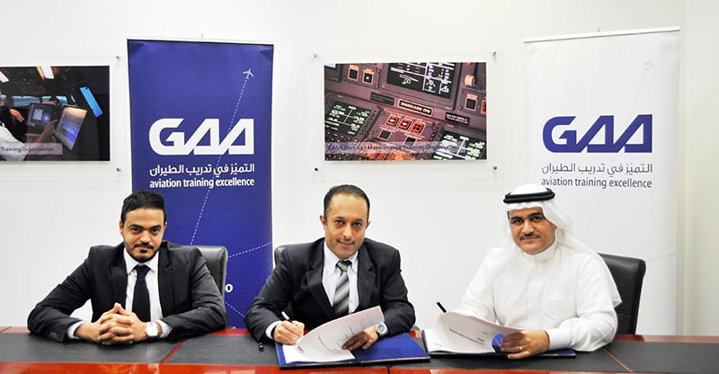Gulf Aviation Academy signs accord to offer aviation finance courses