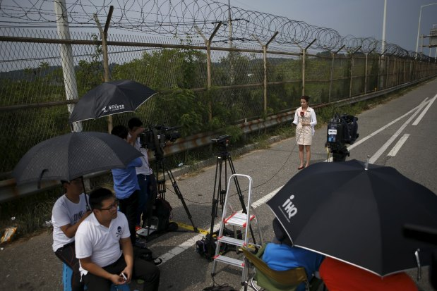 S. Korea says won't end broadcasts without 'clear' N. Korea apology