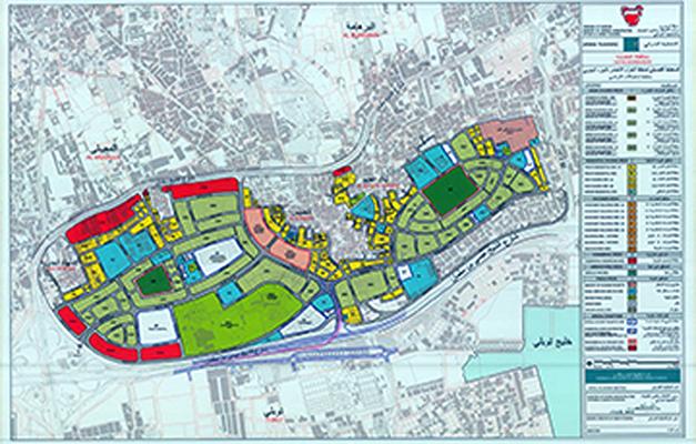 Green belt plan completed