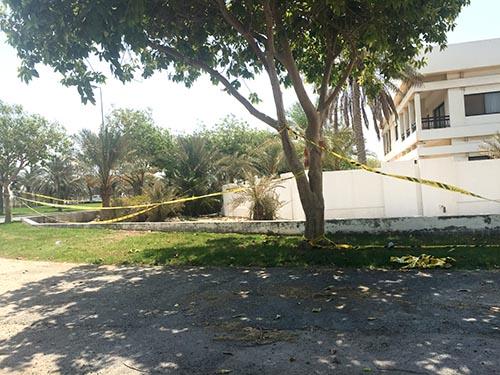 Muharraq blast site inspected