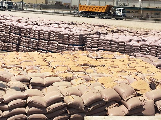 Fire risk as tonnes of bran left at port