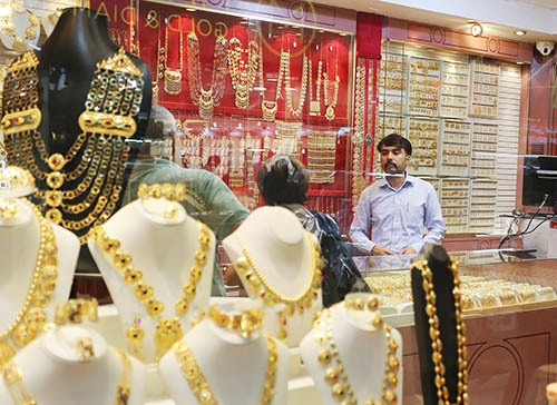 Gold traders in private lab call