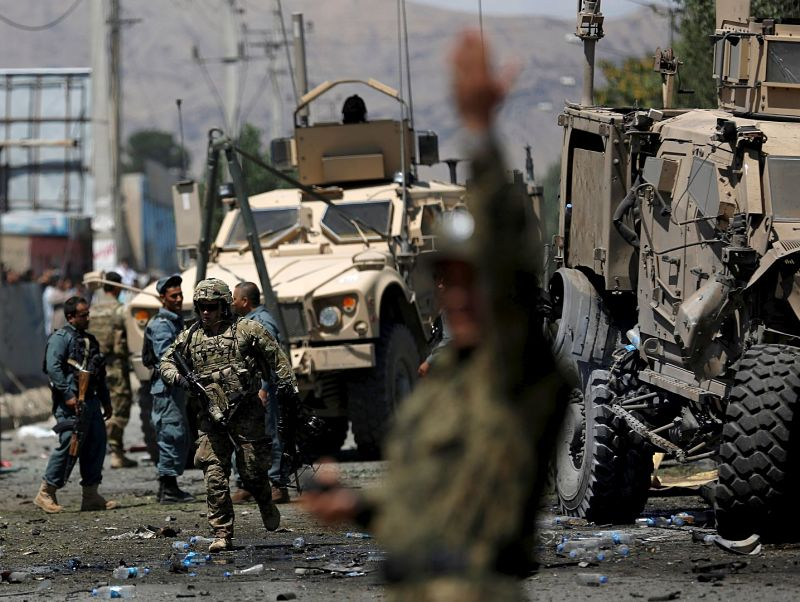 Two NATO soldiers killed in Afghan 'insider attack': coalition