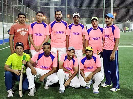 Bahrain Cricket: Anasin stars in Target CC win