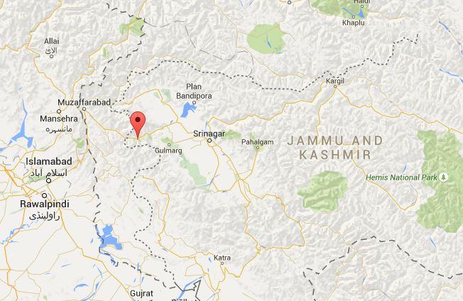 India: Encounter in Uri in North Kashmir