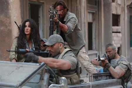 Behind the scenes: When Katrina, Saif Ali fired real bullets on the sets of 'Phantom'