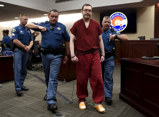 'Batman' killer gets 12 consecutive life terms without parole and 3,318 years