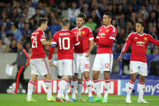 Club Brugge 0-4 Manchester United: Ten must see pictures from the match