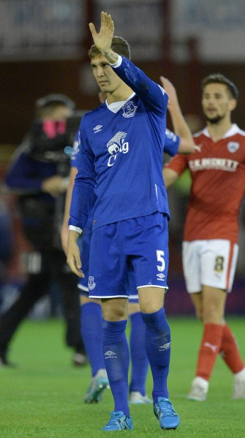 Everton to reject Stones transfer request, says Martinez