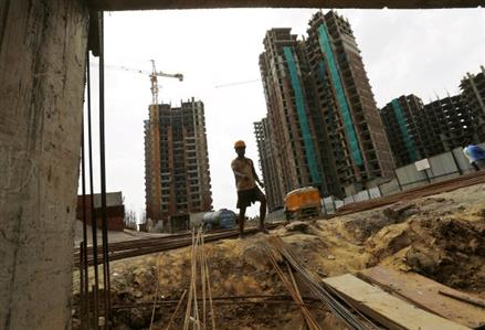 Indian construction slowdown hits Indian PM Modi's jobs promise