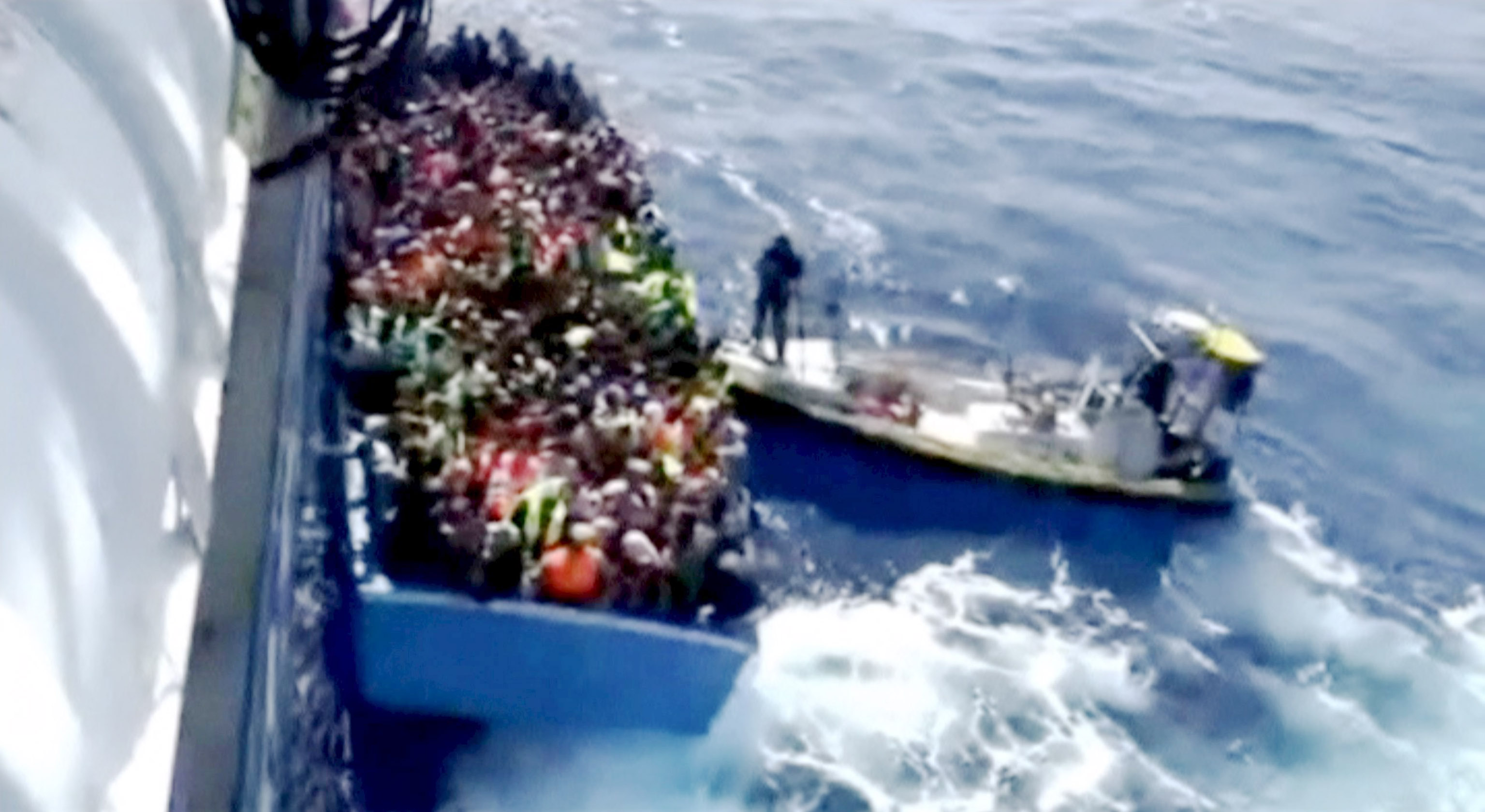 Many feared dead as boat packed with migrants sinks off Libya