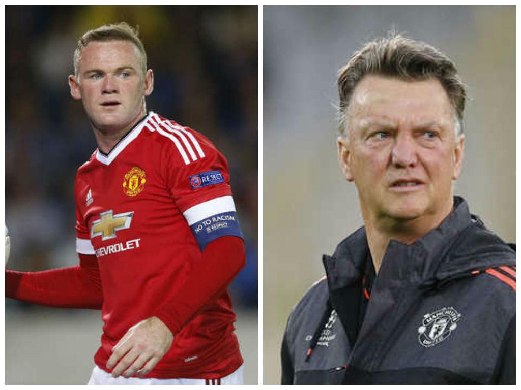 Van Gaal praises Rooney as United cruise through