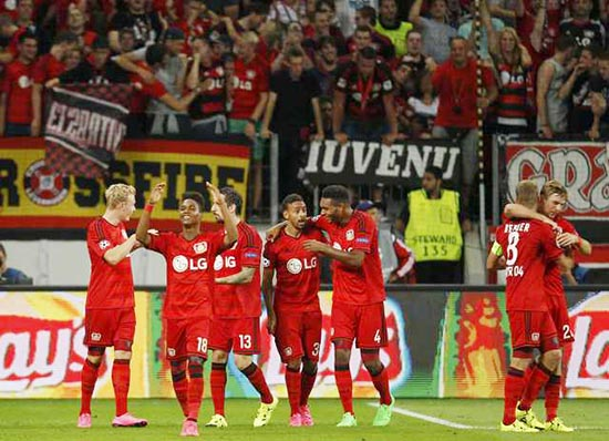 Barcelona drawn with Leverkusen
