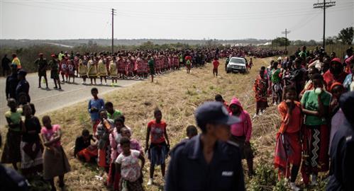 38 girls, young women killed in crash