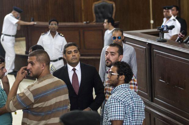 Egypt verdict a 'deliberate attack on press freedom': Al-Jazeera