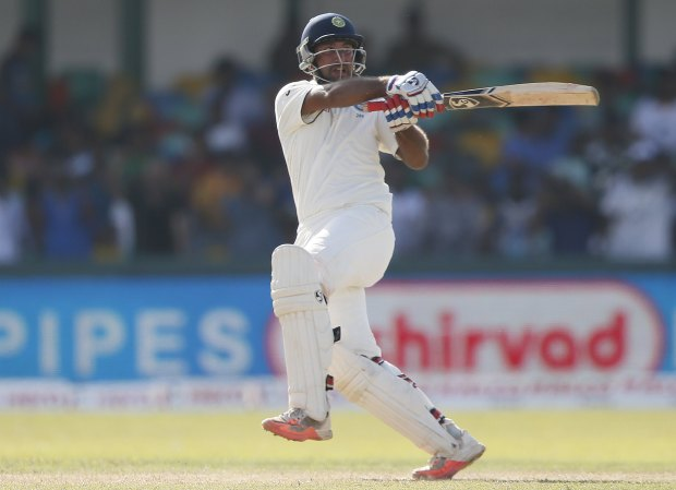 Colombo Test: Pujara holds firm for India against Sri Lanka