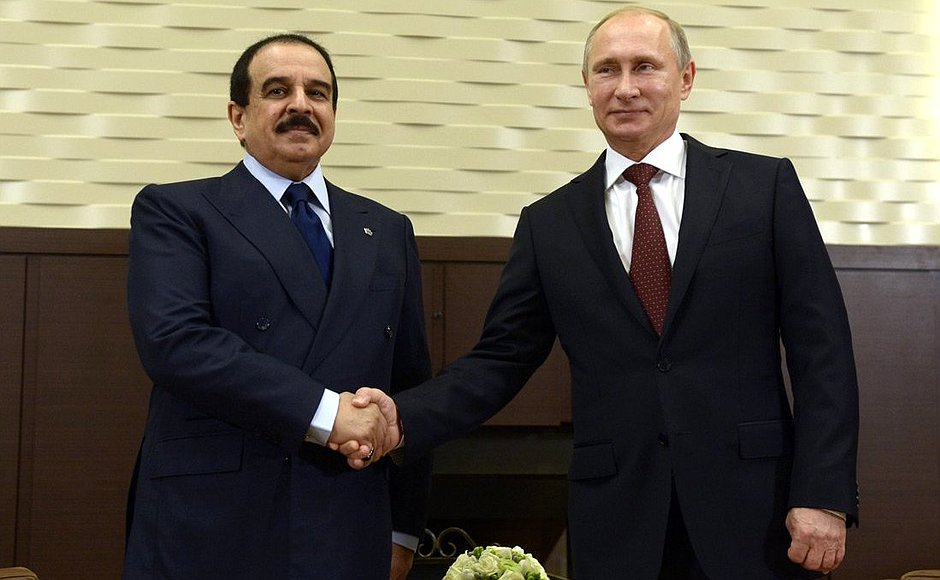 Moscow eyes closer relations with Bahrain