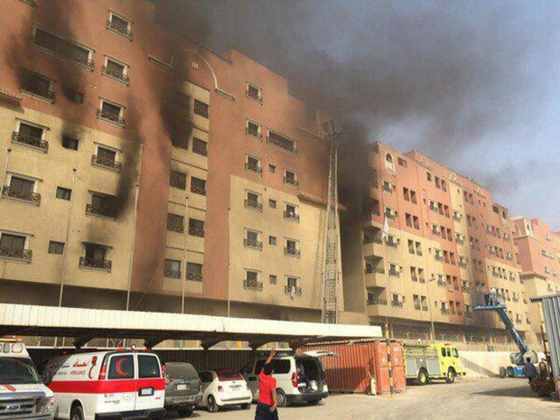 Death toll in fire at Saudi Aramco residential complex rises to 11