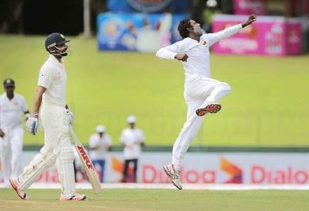 Colombo Test: Bowlers steal show