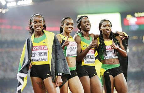 Jamaica sign off with relay gold