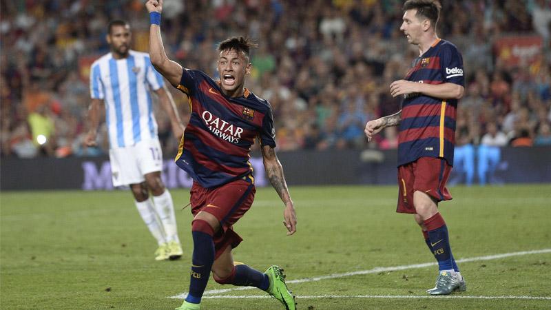 Barca striker Neymar rubbishes Manchester United move