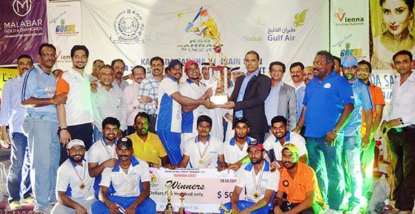Bahrain Cricket: Berger Blue capture Sangha cricket title