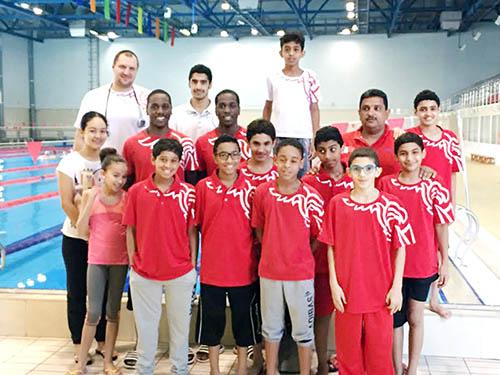 GCC swimming clash set