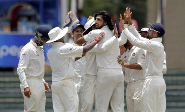 Colombo Test: India need seven wickets to clinch series