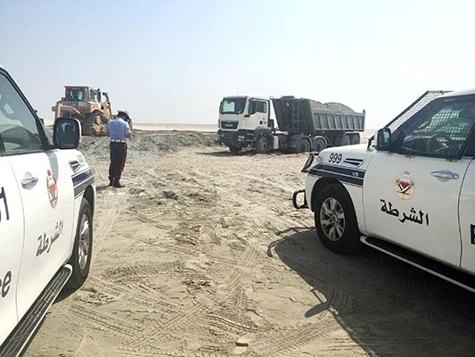 Truck driver run over at worksite