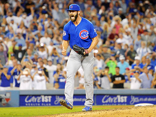Cubs blank Dodgers