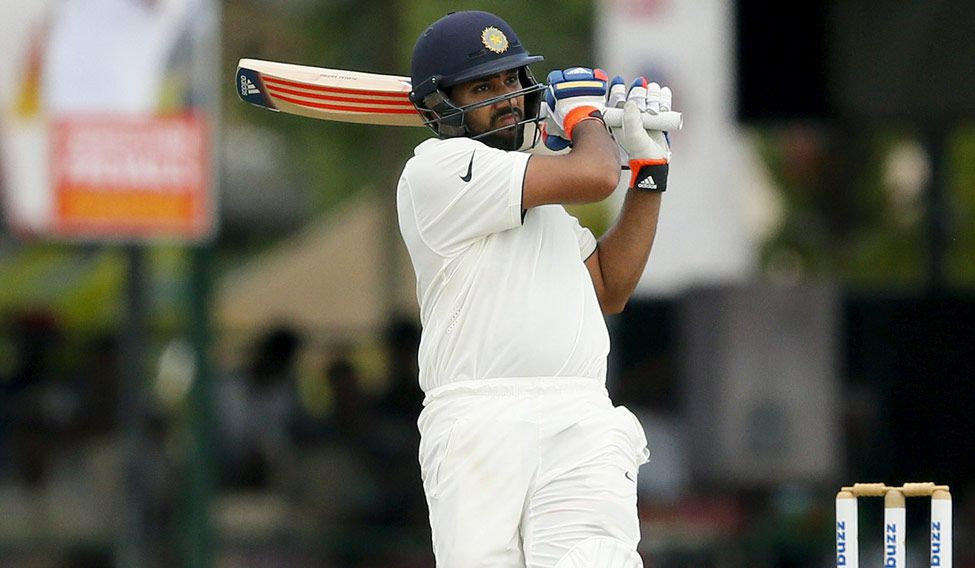 Colombo Test: Rohit falls after fifty, India stretch lead to 243