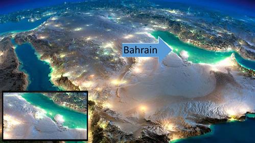 Picturesque Bahrain: NASA photos capture nocturnal beauty of Earth from space