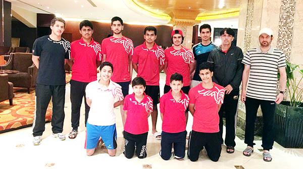 Bahrain squash team brace for GCC tournament