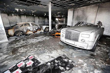 Bahraini businessman victim of UK arson