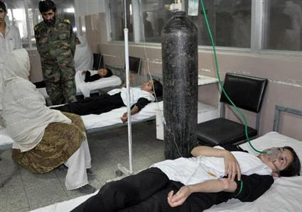 Afghan police investigate gas poisoning at girls' school