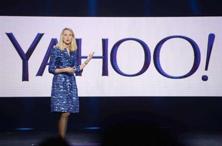Yahoo CEO says she's expecting twins