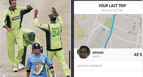 Shocking: Former Pakistani cricketer now drives Uber cab for living