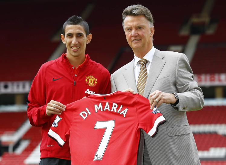 It was 'difficult' to work with Van Gaal, says Angel Di Maria