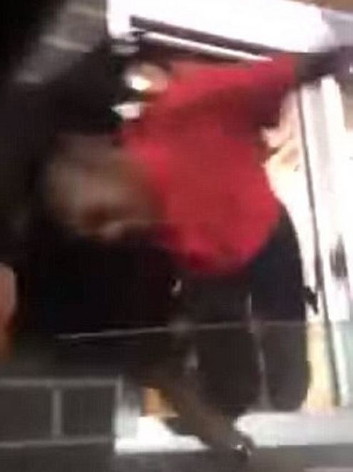 Shocking Video: Fast food employee pulled out of drive-through window by her hair