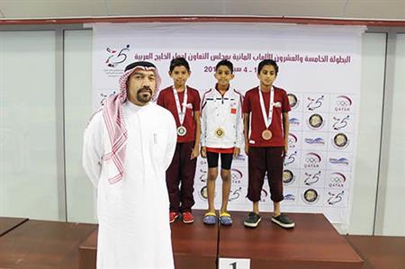 Bahrain swimmers bag three gold in GCC clash