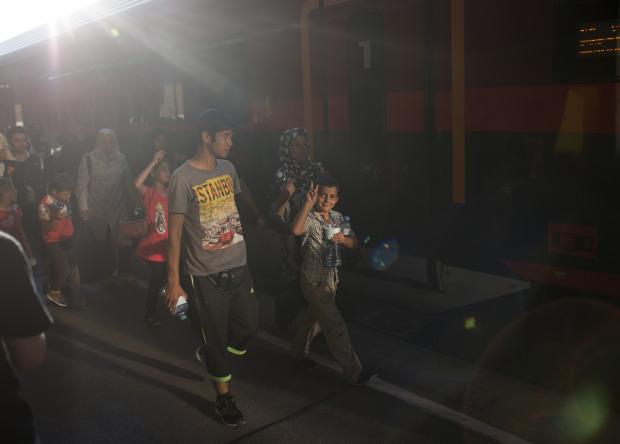 Fleeing Islamic State killings in Syria, a family reaches Bavaria