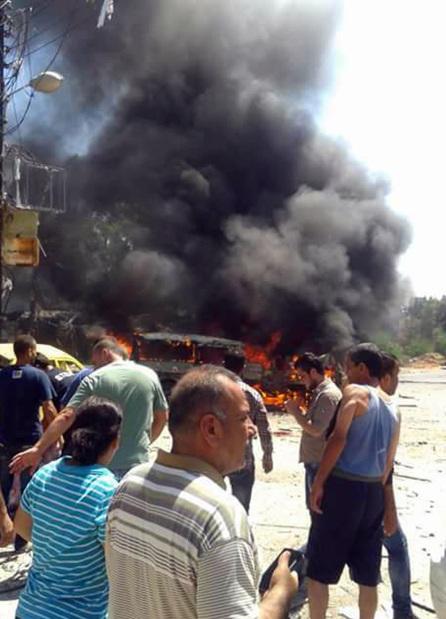 Car bomb kills 10 in Syria regime bastion Latakia