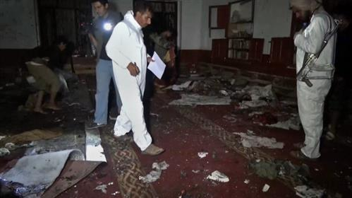 28 die in bombing of Yemen mosque claimed by IS