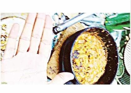 Saudi Arabia: Copper wire found in breakfast meal