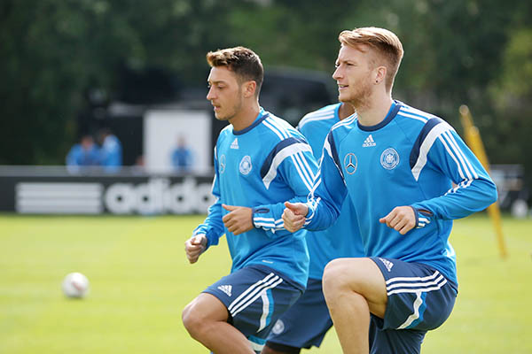 Germans ready for crucial qualifiers