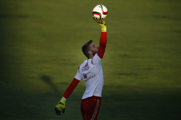 Spain coach Del Bosque tells Manchester United's De Gea to be a 'good professional'